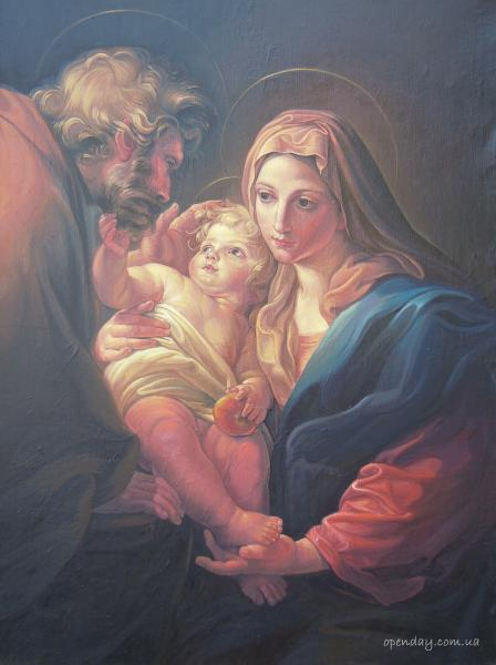 A copy of the Holy Family