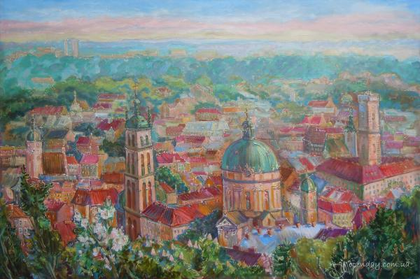 Panorama of Lviv
