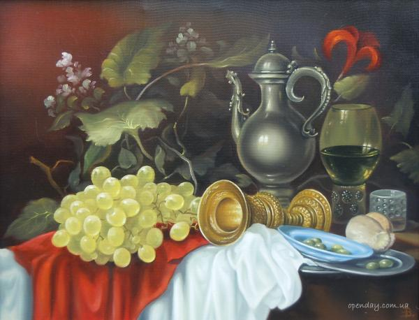 Still Life with Gold Chalice