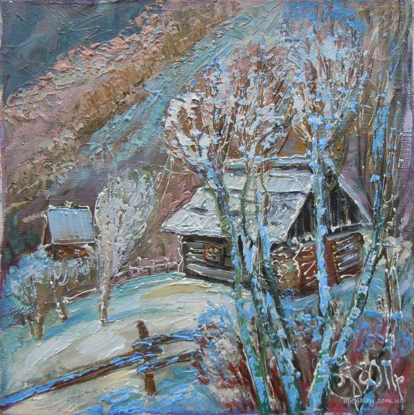 Winter in Carpathians